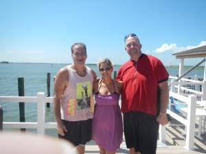 Vince, Christina and I