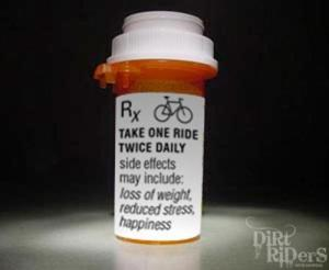bike ride meds